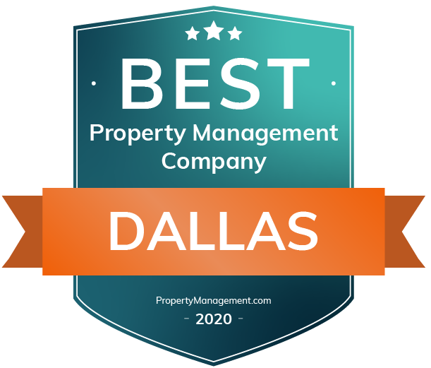 Best Property Management Company badge